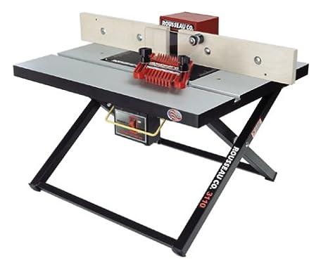 Amazon.com: Rousseau 3110, de mesa mesa plegable Router ...