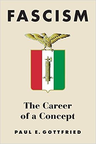 Fascism: The Career Of A Concept por Paul E. Gottfried epub