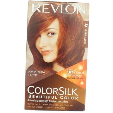 Revlon Colorsilk #42 Medium Auburn (3 Pack)