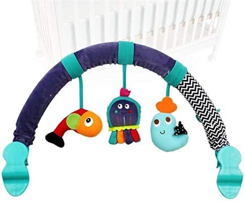 DYXYH 1 Pezzo Presepe Hanging Peluche di Puzzle del Modello Animale del Mare Morbida Sviluppo Presepe Rattle Toy Bambino