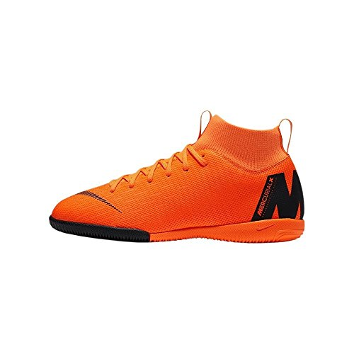 de Fitness GS 38 Orange Superflyx Total EU Nike Academy Chaussures Jr 6 810 IC Multicolore 5 T Adulte Mixte Black qpwf180