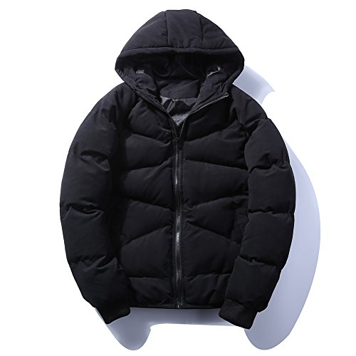 Men's Fashion Winter Thicken Cotton Jackets Outerwear Puffer Jacket with Hooded