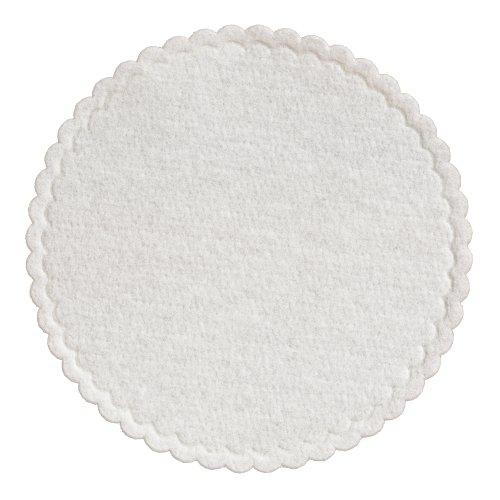 (Hoffmaster 876083 Linen-Like Coaster, 3-3/8