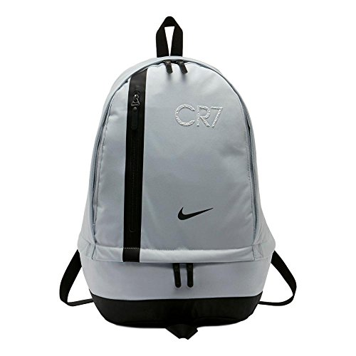 Nike CR7 Cheyenne Backpack [PURE PLATINUM/BLACK/BLACK] (Nike Soccer Backpack)