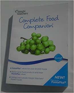 Weight Watchers Points Plus Complete Food Companion 2011 (Food Companion ONLY)