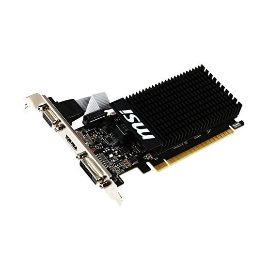 MSI Computer Video Card GT 710 2GD3H LP 41G6JcOBzrL. SS555