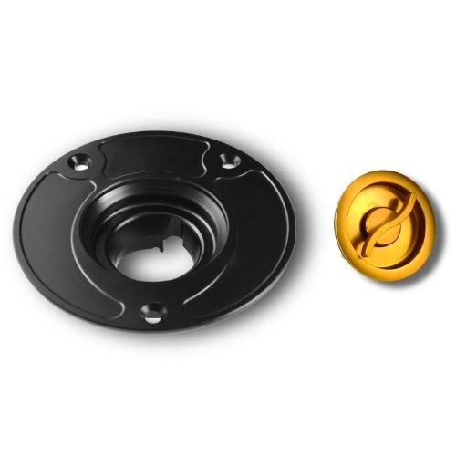 Tap/ón Dep/ósito Racing EDO Suzuki GSX-R 600 04-16 negro//oro