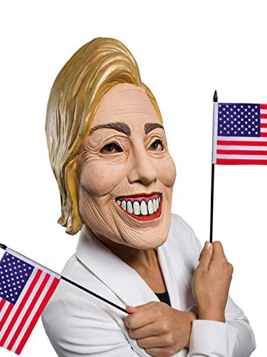 Rubie's Women's Famous Faces Political Mask Hillary, As As Shown, One Size]()