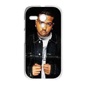 Motorola G Cell Phone Case White Timbaland E5920739
