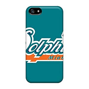 New Miami Dolphins Tpu Case Cover, Anti-scratch LifeLeader Phone Case For Iphone 5/5s
