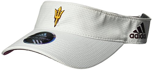 adidas NCAA Arizona State Sun Devils Adult Men Spring Game Visor, One Size, - Visor College