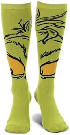 elope Dr. Seuss The Grinch Knee High Costume Socks