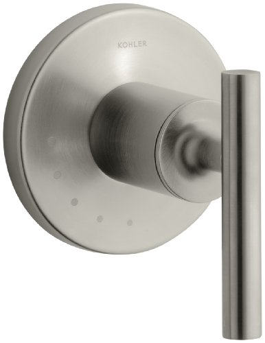 KOHLER K-T14490-4-BN Purist Volume Control Valve Trim, Vibrant Brushed Nickel
