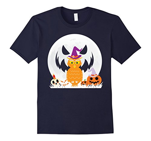 Mens Owl T Shirt Funny Cute Halloween Costume for Men and Women 2XL (Cute Mother And Daughter Halloween Costumes)