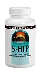 Source Naturals 5-HTP, 100mg, 240 Capsules