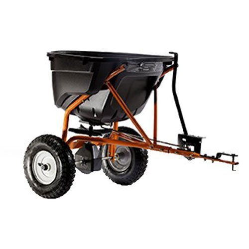 Spreader Drop Lawn (Agri-Fab 45-0463 130-Pound Tow Behind Broadcast Spreader)