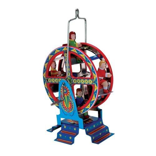 (Traditional Mini Tin Ferris Wheel Collectors Toy Ornament)