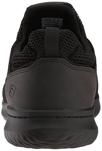 US Black Skechers Brewton USA 5 7 Fit Men's Black Men's Sneaker Relaxed M Delson nxn6PrOY