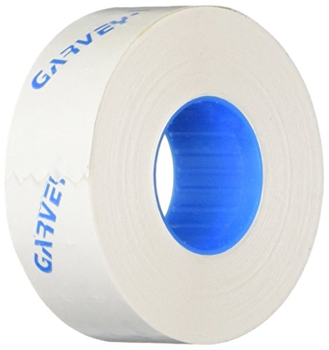 Garvey One-Line Pricemarker Labels, 7/16 x 13/16 Inches, White, 1200/Roll, 16 Rolls/Box (090948) by GARVEY