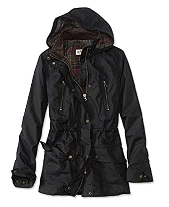 Orvis Women's River Road Waxed Cotton Jacket at Amazon