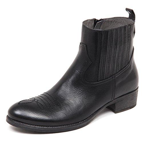 texano Girl Shoe Black Scarpa Stivaletto Kid Momino Bimba Stivale E6642 Boot Nero Aw6aqZX