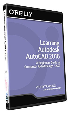 Learning Autodesk AutoCAD 2016 - TrainingDVD by Infiniteskills