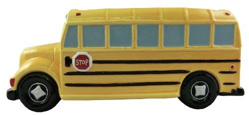 Accents & Occasions Ceramic School Bus Planter or Flower Arrangement Vase, 3-Inch ()