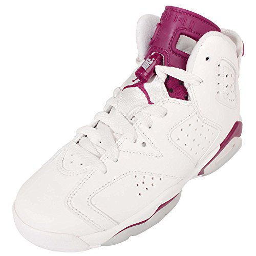 Retro Junior Air Wit New Bg Jordan 6 off Rood Nike Maroon I7TqTwH