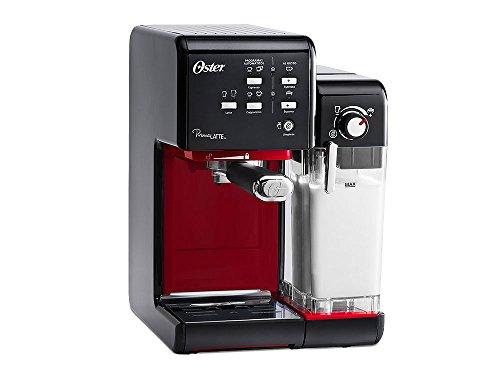 Cafeteira Prima Latte II Oster - | 110V - Vermelha e preta
