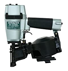 Hitachi NV45AB2 7/8-Inch to 1-3/4-Inch Coil Roofing Nailer (Side Load)