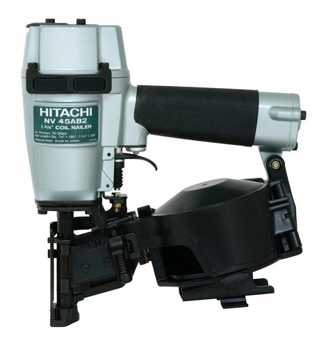 Hitachi NV45AB2 7/8-Inch to 1-3/4-Inch Coil Roofing Nailer (Side Load) (Discontinued by the Manufacturer) from Hitachi