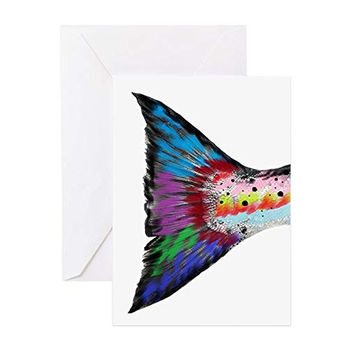 CafePress STREAMS Greeting Cards Greeting Card, Note Card, Birthday Card, Blank Inside Matte