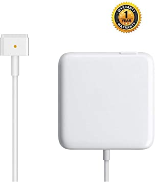 Amazon.com: Cargador para Mac Book Pro, AC 60 W Magsafe 2 T ...