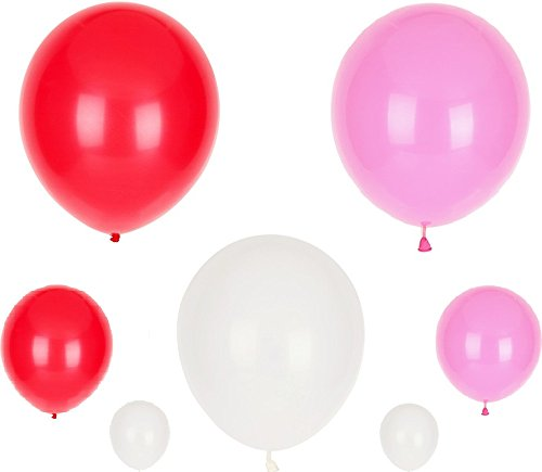 [3 Colors Assorted 150pcs/pack 10 Inch Latex Balloons 1.8Grams Thickening Pearl Balloons for Wedding Birthday Party Decorations] (Bollywood Party Decorations)