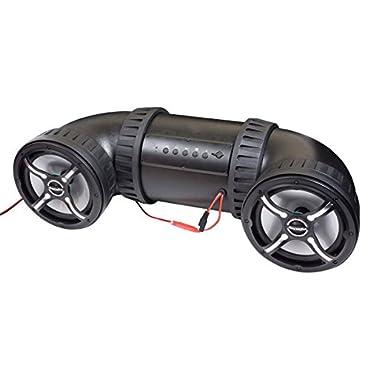 Bazooka 8 ATV-TUBE Off Road Bluetooth Speaker System (Black)