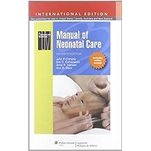 Manual of Neonatal Care.