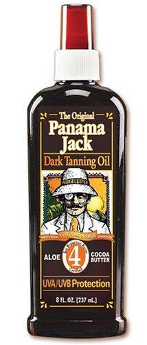 - Panama Jack Dark Tanning Oil SPF 4 8-fl. oz.