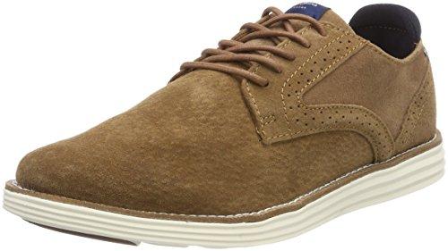 Suede Oxford Zapatos Cordones Pepe de Jeans Tobacco Marrón Hombre Derry xqnfYrEY