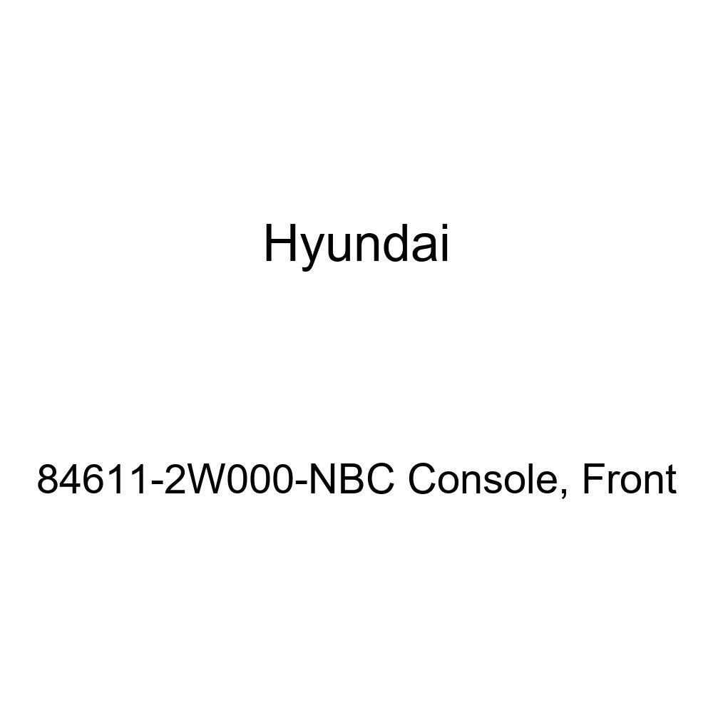 Genuine Hyundai 84611-2W000-NBC Console Front