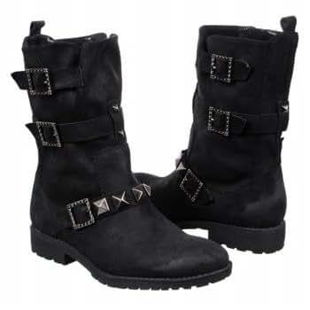 Libby Edelman Women's Mona Boot,Black,7.5 M US