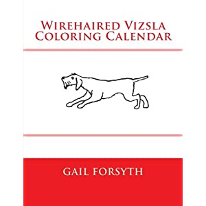 Wirehaired Vizsla Coloring Calendar 39