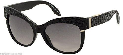 Roberto Cavalli Shades (Roberto Cavalli Teti RC740S 01B Womens Sunglasses Black Frame Gray Lens)
