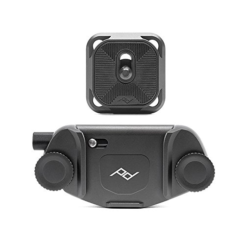 Peak Design Capture Camera Clip V3 (Black with Plate)