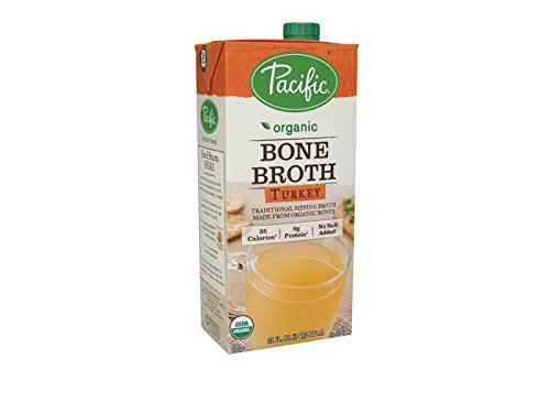 Pacific Natural Foods Organic Bone Broth Turkey, 32 oz by Pacific Foods