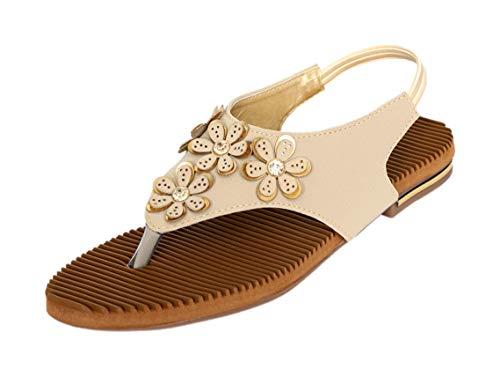 Dolphin Miles Women's Fashion Sandals, 47501crm-$Parent SKU