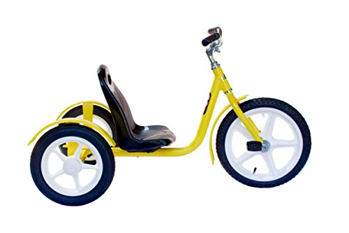 Groffdale Chopper Kid's Deluxe Yellow Trike by AmishToyBox.com (Image #2)