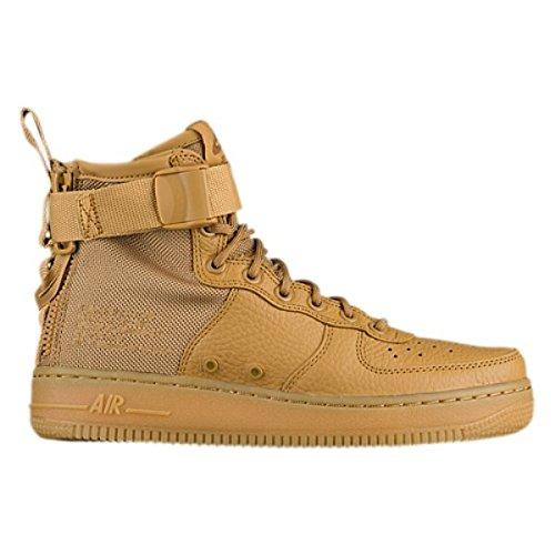 ナインへギャンブルレーニン主義(ナイキ) Nike レディース バスケットボール シューズ?靴 SF Air Force 1 Mid [並行輸入品]