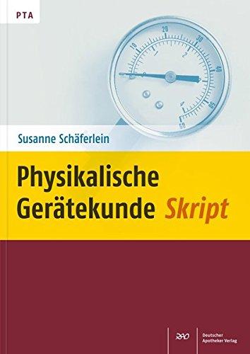 Physikalische Gerätekunde Skript
