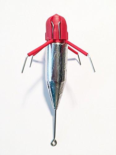 6 Ounce - 10 Pieces: Gemini Breakout Sinkers   Surf Sinkers   Sputnik Sinkers   Spider Weights  