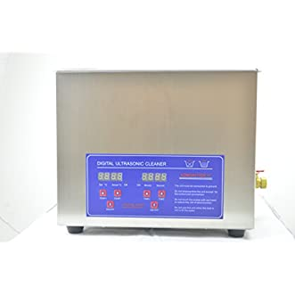 Ultrasonic Cleaner 10l 40khz for Circuit Board Screw Descaler Cleaning with Digital Play and Free Basket Discount